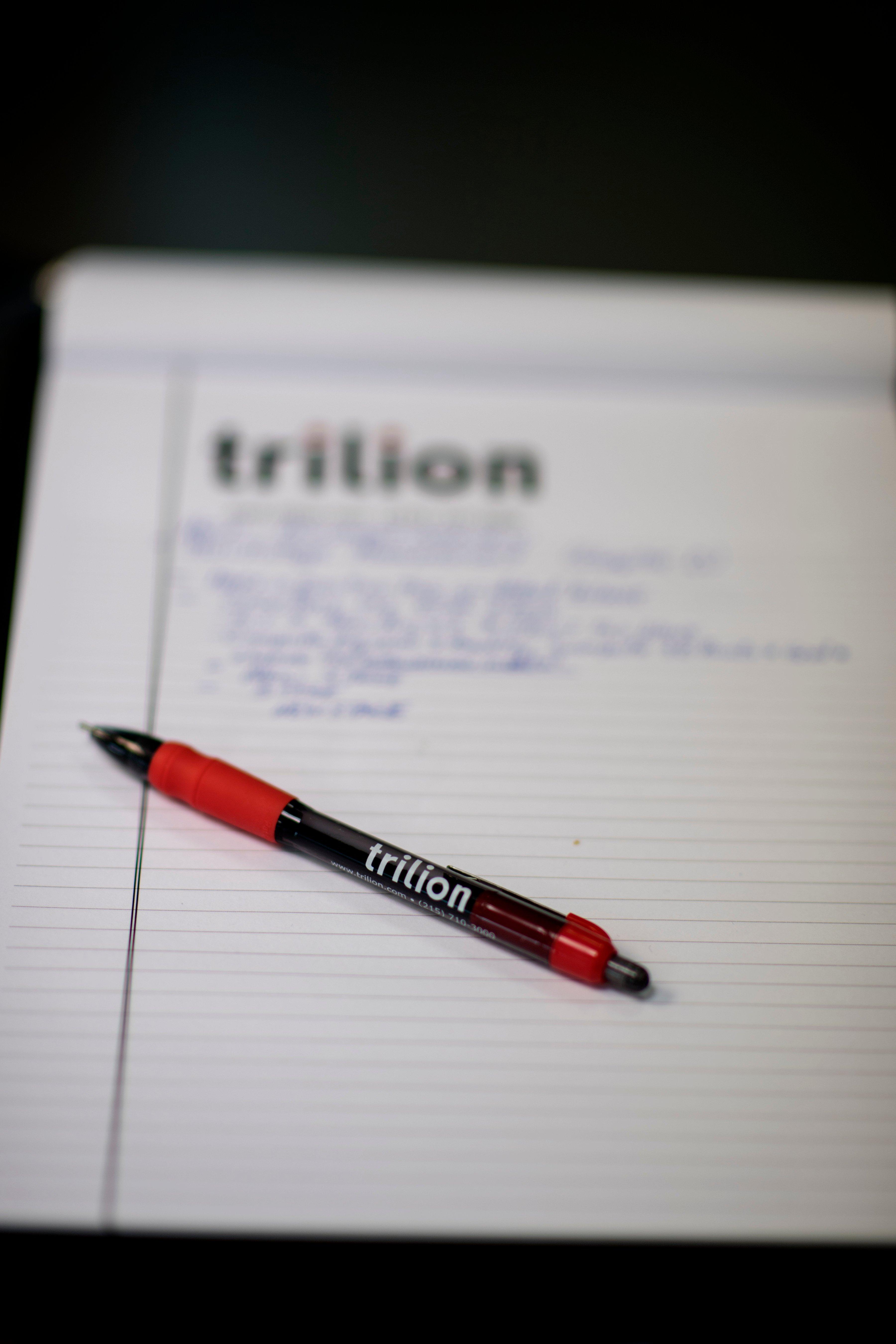 Trilion note pad