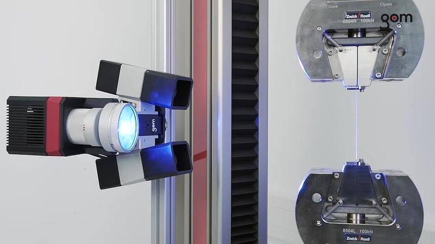 Digital Image Correlation ARAMIS 3D Material Testing