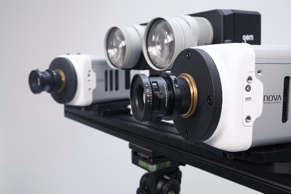 Digital Image Correlation High-Speed ARAMIS system